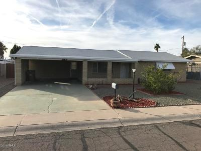 Apache Junction Single Family Home For Sale: 1118 S Lawther Drive