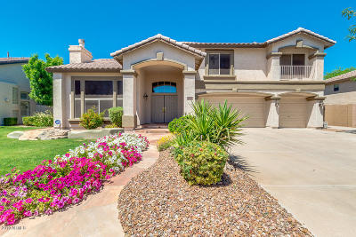 Chandler Single Family Home UCB (Under Contract-Backups): 1370 E San Carlos Way