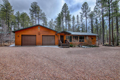 Pinetop Single Family Home For Sale: 2111 Sunflower Drive