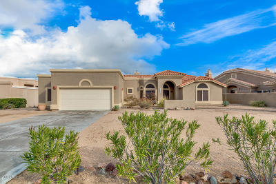 Fountain Hills Single Family Home For Sale: 16629 E Westby Drive