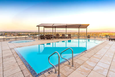 Scottsdale Waterfront, Scottsdale Waterfront Residences, Scottsdale Waterfront Residences Condominium Apartment For Sale: 7181 E Camelback Road #401