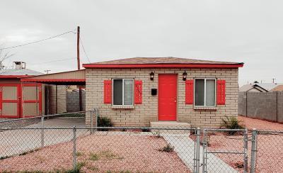 Phoenix Single Family Home For Sale: 1117 E Polk Street