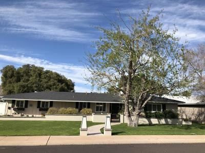 Scottsdale Single Family Home For Sale: 6202 E Earll Drive