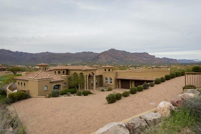 Gold Canyon AZ Single Family Home For Sale: $1,295,000