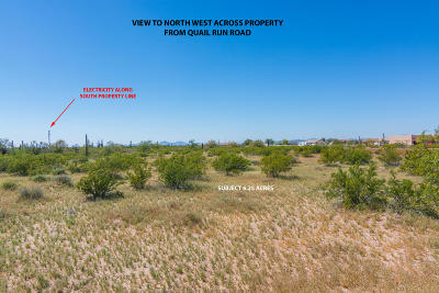 Residential Lots & Land For Sale: 00xx N Quail Run (Approx) Road