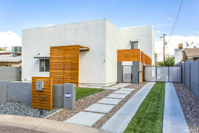 Phoenix Single Family Home For Sale: 3815 N 8th Street