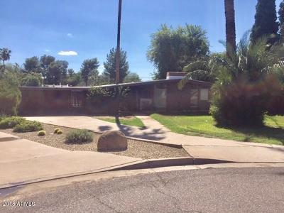Phoenix Single Family Home For Sale: 3211 E Orange Drive