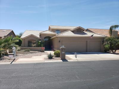 Sun Lakes Single Family Home For Sale: 8935 E Cedar Waxwing Drive