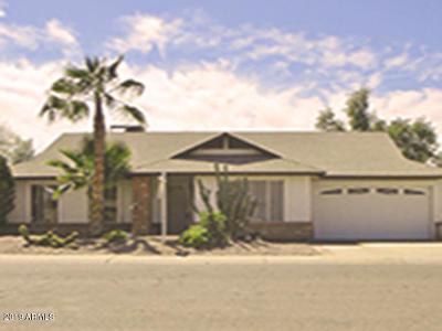 Glendale Single Family Home For Sale: 6125 W Poinsettia Drive