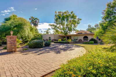 McCormick Ranch Single Family Home For Sale: 8002 N 74th Place