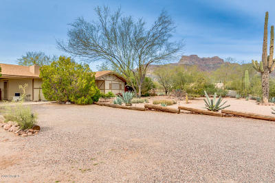 Apache Junction Single Family Home For Sale: 5800 E Arroyo Lindo