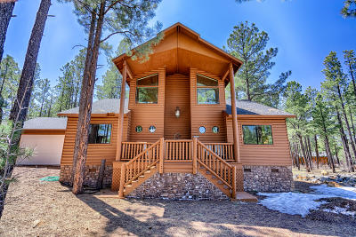 Pinetop Single Family Home For Sale: 8493 Pinewood Drive