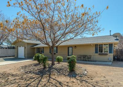Prescott Single Family Home For Sale: 3200 Cottonwood Lane