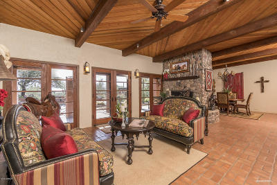 Cave Creek Single Family Home For Sale: 40472 N Spur Cross (14.99 Acres) Road