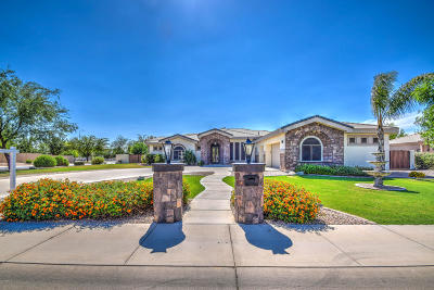 Terraranch At Queen Creek Single Family Home For Sale: 23490 S 201st Street