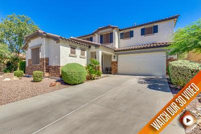 Maricopa Single Family Home For Sale: 19359 N Ventana Lane