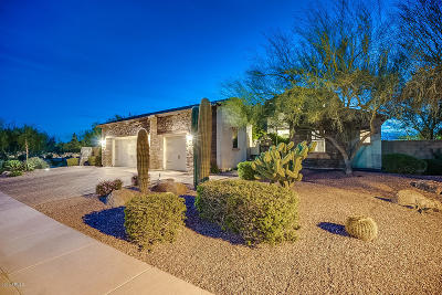 Cave Creek Single Family Home For Sale: 5216 E Barwick Drive