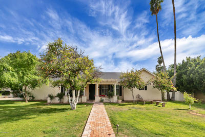 Single Family Home For Sale: 5501 E Mariposa Street