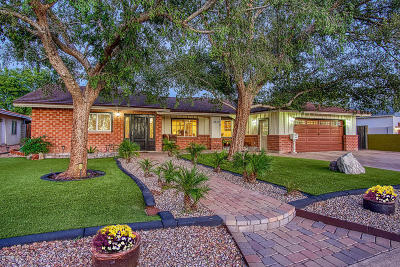 Phoenix Single Family Home For Sale: 3415 N 45th Place
