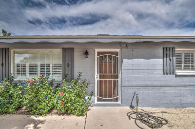 Scottsdale Single Family Home UCB (Under Contract-Backups): 7532 E Beatrice Street