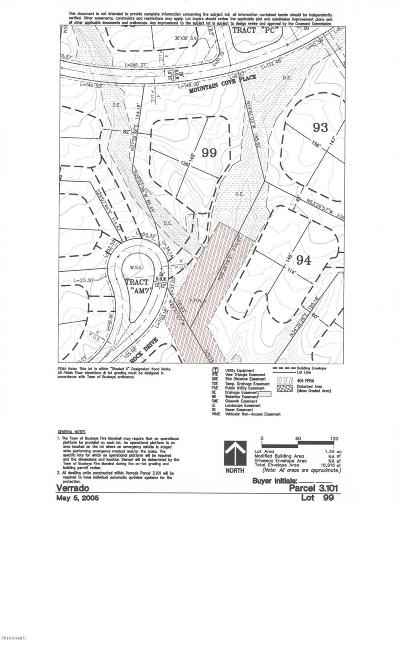 Buckeye Residential Lots & Land For Sale: 21271 W Black Rock Drive