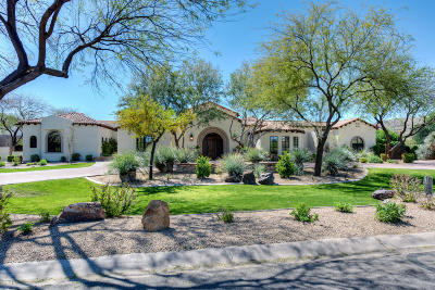 Paradise Valley Single Family Home For Sale: 5017 E Tomahawk Trail