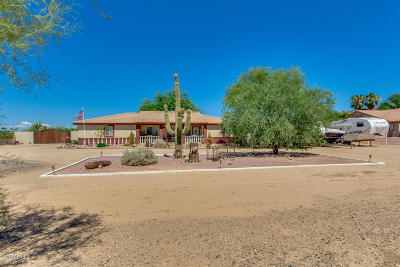 Peoria Single Family Home For Sale: 9260 W Happy Valley Road