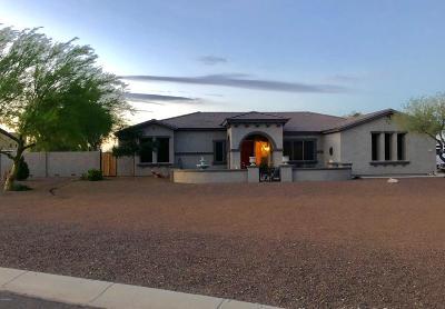Wittmann Single Family Home For Sale: 23024 W Sierra Ridge Way