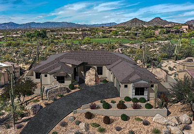 Scottsdale Single Family Home For Sale: 9760 E Monument Drive