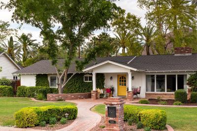 Phoenix Single Family Home For Sale: 5218 E Roma Avenue