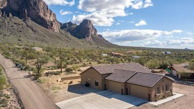 Apache Junction Single Family Home For Sale: 2577 N Charlebois Road