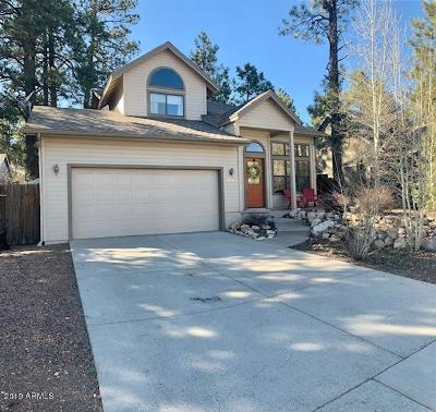 Flagstaff Single Family Home For Sale: 1445 W Lil Ben Trail