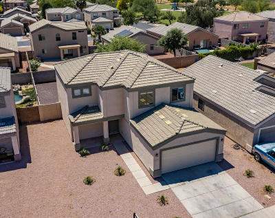 El Mirage Single Family Home For Sale: 12413 W Aster Drive