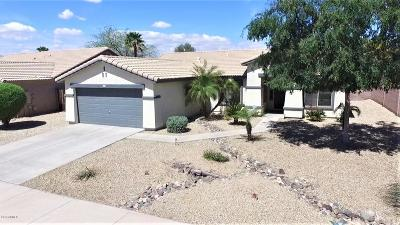 Goodyear Single Family Home For Sale: 15874 W Pima Street
