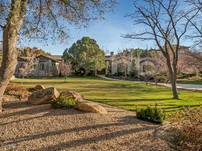 Prescott AZ Single Family Home For Sale: $3,499,900