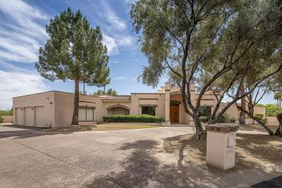 Paradise Valley Single Family Home For Sale: 6521 E Via Los Caballos