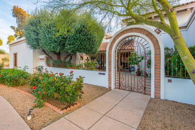 Paradise Valley Single Family Home For Sale: 5221 E Via Del Cielo
