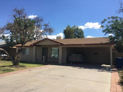 Tempe Single Family Home UCB (Under Contract-Backups): 5540 S Mill Avenue