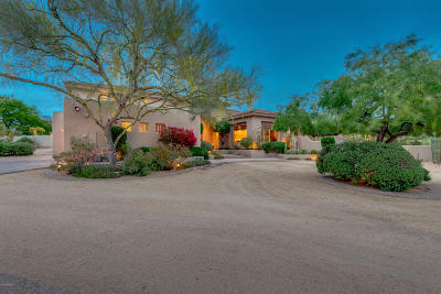 Scottsdale Single Family Home For Sale: 9334 E Via Montoya