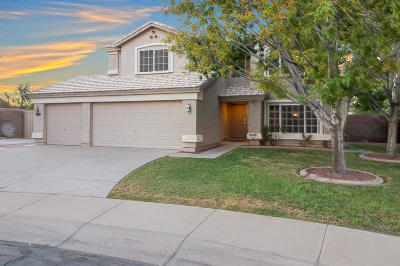 El Mirage Single Family Home For Sale: 12710 W Sunnyside Circle