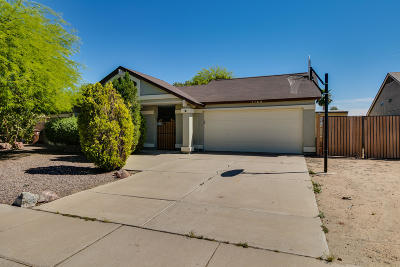 Peoria Single Family Home UCB (Under Contract-Backups): 7749 W Paradise Drive