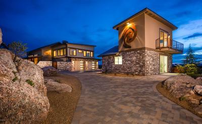 Prescott AZ Single Family Home For Sale: $1,599,000