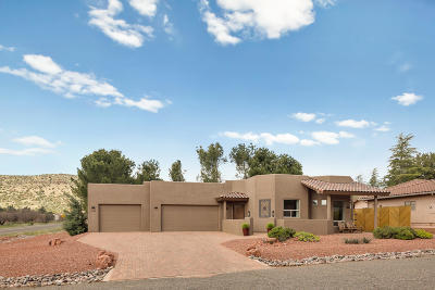 Sedona Single Family Home For Sale: 15 Yellow Hat Circle