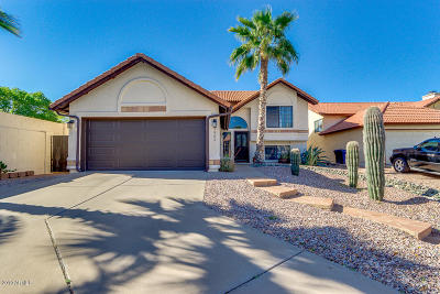 Scottsdale, Chandler, Gilbert, Higley, Mesa, Queen Creek, San Tan Valley, Tempe Single Family Home For Sale: 5505 W Del Rio Court