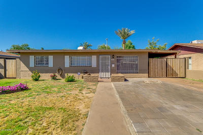 Phoenix Single Family Home For Sale: 3016 E Roosevelt Street