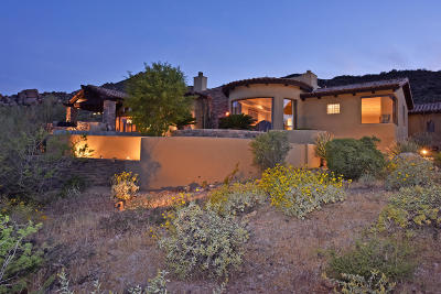 Carefree AZ Single Family Home For Sale: $3,985,000