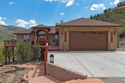 Prescott Single Family Home For Sale: 1244 Jordin Drive