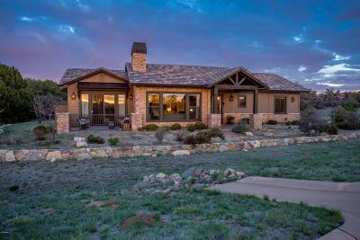 Prescott Single Family Home For Sale: 14445 N Sandia Lane