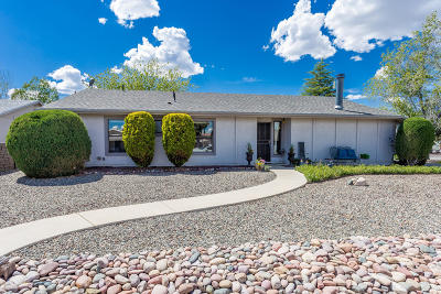 Prescott Valley Single Family Home For Sale: 4980 N Meixner Road