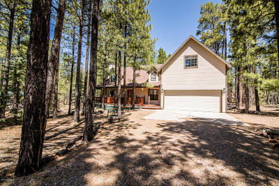 Pinetop Single Family Home For Sale: 2567 Crossman Court